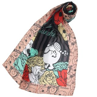 Mr Men & Little Miss x Artify Me Rose long scarf