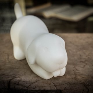 Intimate Labrador - Dog Model Stone Carving