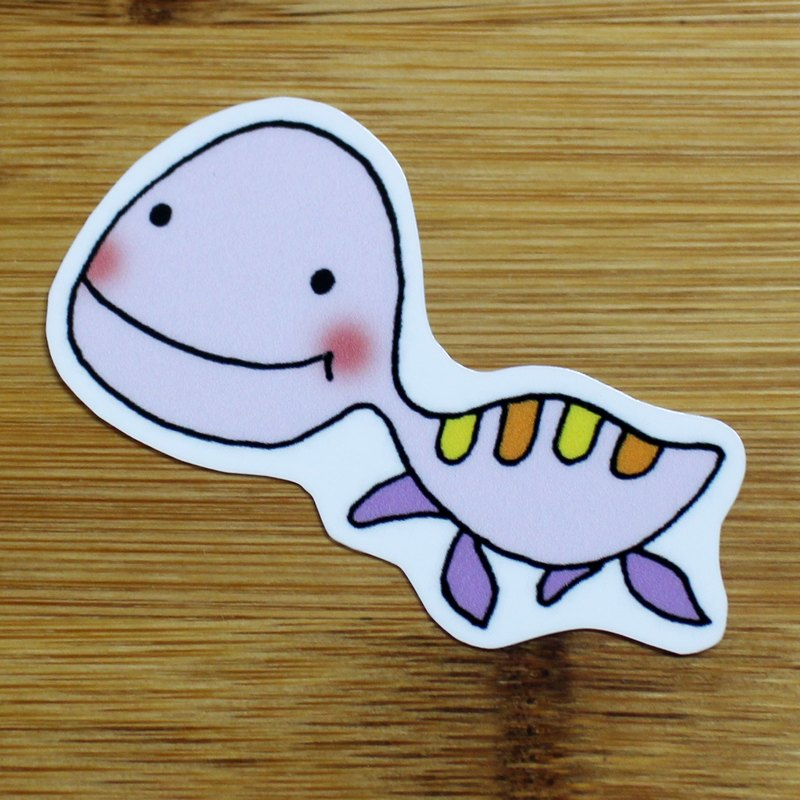 Waterproof stickers (small) _ small dinosaur series 05