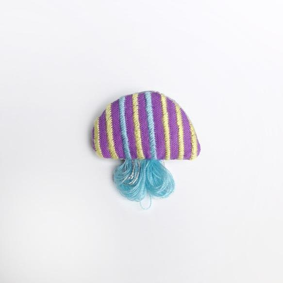 Jellyfish brooch No. 015 [MTO]
