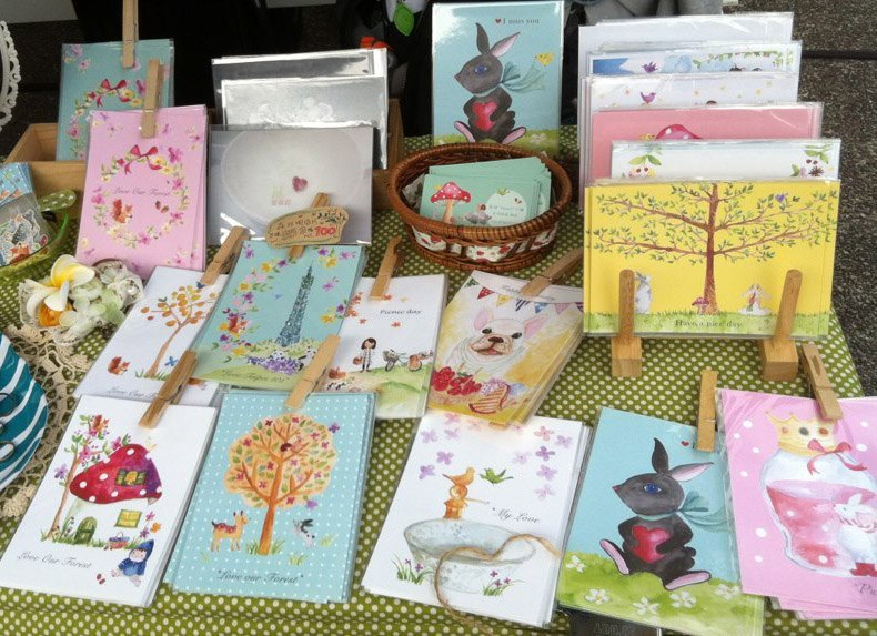 * Zoe's forest * Forest postcard set optionally 6