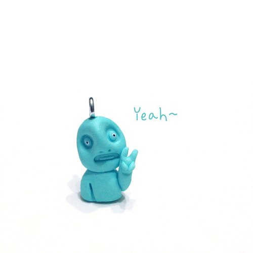 Fuss was Shockedmonster have hands Little Monster Pendant (Yeah)