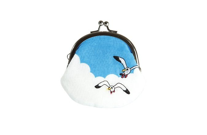 [Jingdong all KYO-TO-TO] cloud シ an have DANGER _ seagulls skies (ミ ni ga ma mouth humanely cloud) Purse
