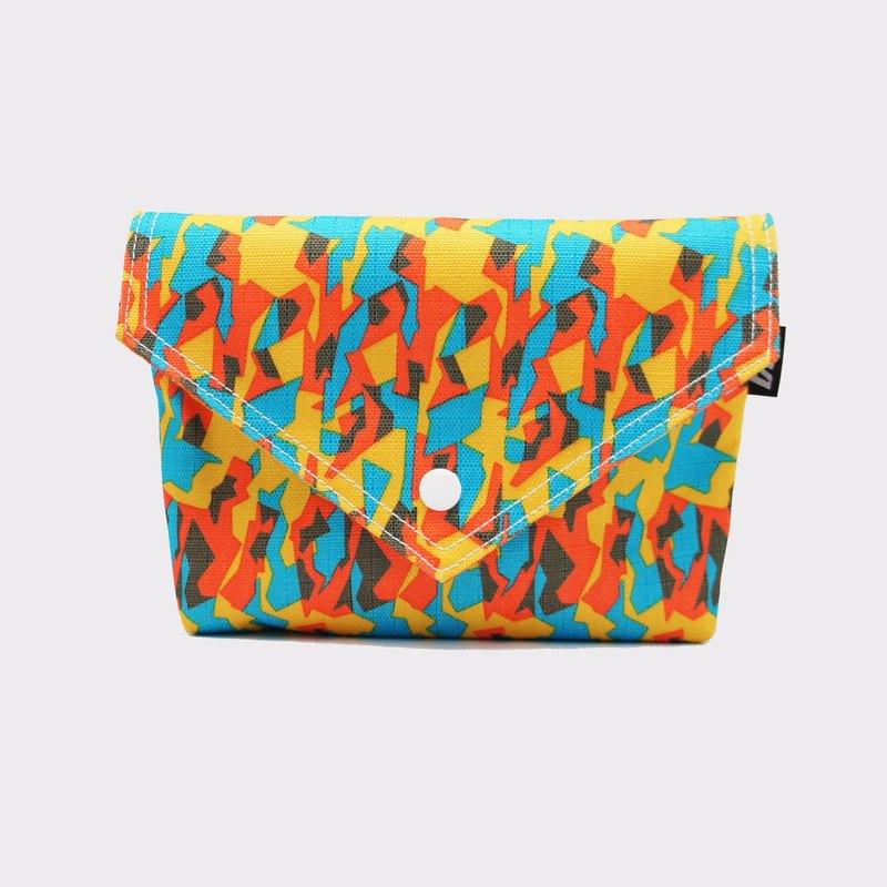 BLR 手工印製 橙色夏日 BB BAG 肩背包 手拿包