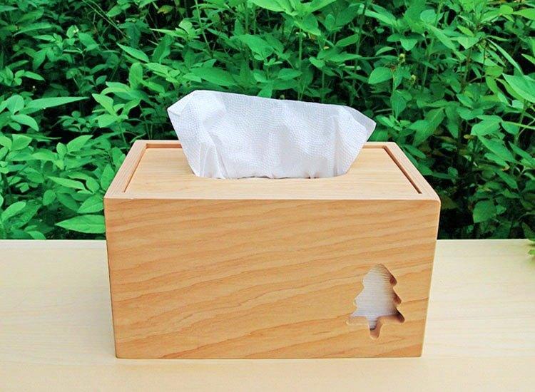 【台灣檜木】小樹台檜衛生紙盒