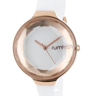 {Rumba Time} in New York fashionable watch brand Orchard Gem - white crystal