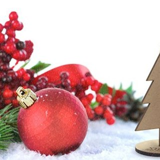 [Design] eyeDesign saw wooden Christmas gift deer Series - Christmas Tree