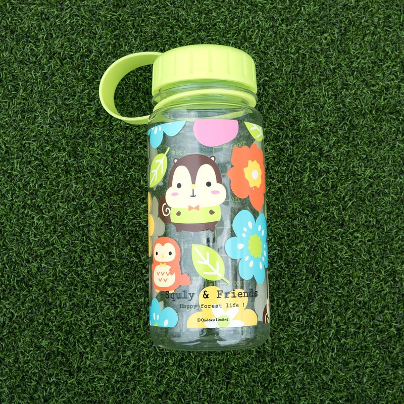 Tritan Water Bottle (Flower Pattern) - E002SQH