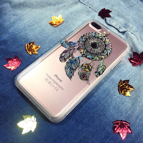 【Classic】dreamcatcher for iPhone X/ 8 Plus, Super Sturdy Case with 3D embossed