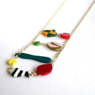 Vegetable Market necklace