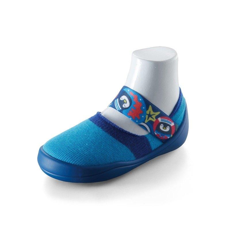 feebees學步鞋/襪鞋/室內外皆可穿 - 歡樂派/海洋派對