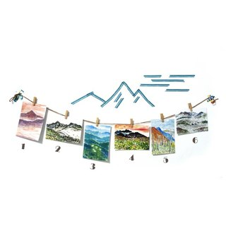 [Taiwan] alpine painted postcard sets × 6 张