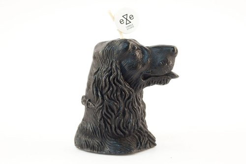 Cocker Dog Candle