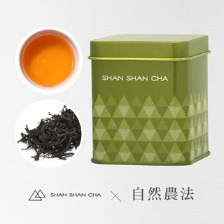[Mountains came to the tea] Natural Agricultural Law Sun Moon Lake Red Jade Tea (30g/can)