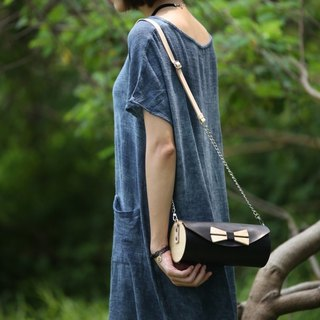 Wooden Cylinder Bag / cross body bag /shoulder bag / wooden bag