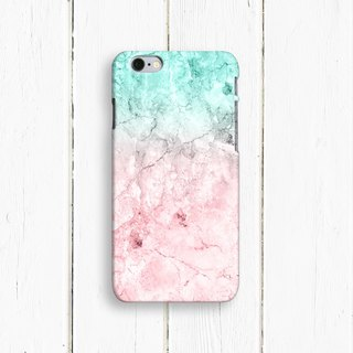 Marble, Pink and Blue,  - Designer iPhone Case. Pattern iPhone Case. One Little Forest