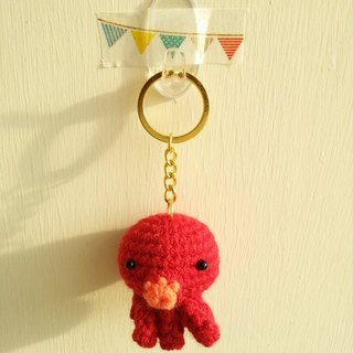 [Knitting] Marine Biology ~ sea creatures large collection -NO.5 Octopus shy octopus