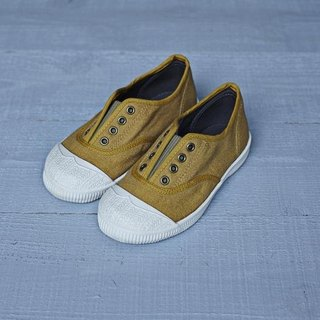 Casual shoes-FREE children's shoes-Dadi Yellow 18CM