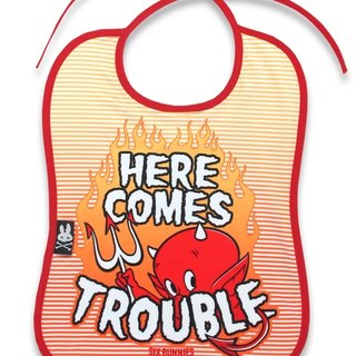 Here comes Trouble (trouble here it!) Bibs bibs