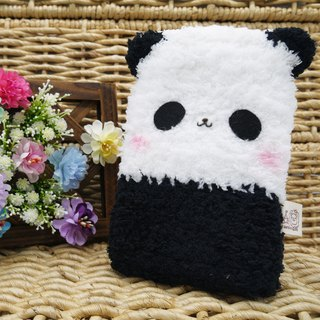 Marshmallow animal cell phone pocket - Panda