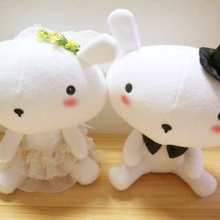 Bucute wedding dress rabbit ~ marriage Edition / Wedding Accessories / Exclusive / handmade /