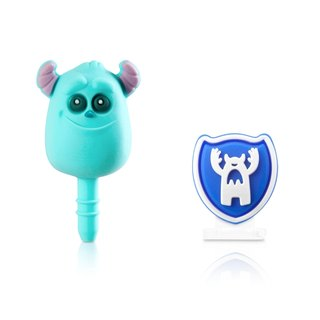 Mao blame headphone plug & amp; Lightning dust plug group [Monsters University]