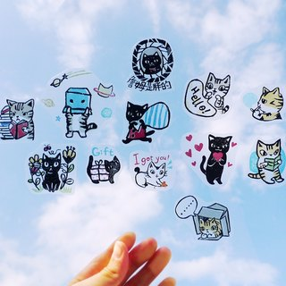 Stickers - UV transparent waterproof sticker (B)