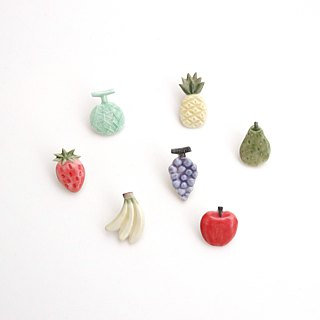 Fruit pin brooch