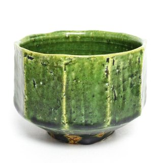 Evening twilight wipe burn green enamel bowl Oribe