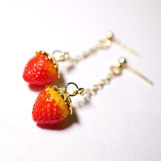 *Playful Design* Strawberry Earrings