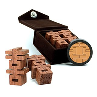 [play wood silver home] C-1 rosewood + flannel box (five printing) / 囍 word seal wedding gift