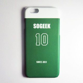 SO GEEK phone shell design brand THE JERSEY GEEK jersey back number Customized paragraph 048