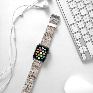 Apple Watch Series 1 , Series 2, Series 3 - Wall White Brick Watch Strap Band for Apple Watch / Apple Watch Sport - 38 mm / 42 mm avilable