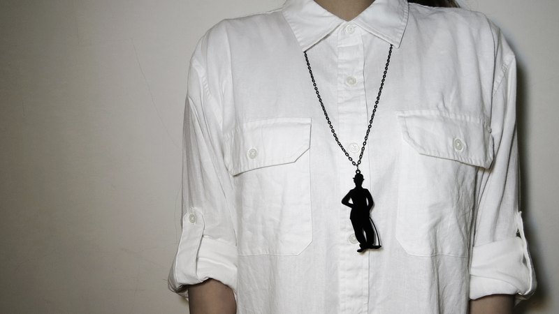 Shadow Silhouette Series - Chaplin Necklace