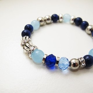 [Limited product sold out] Moccasin light crystal ore bracelet