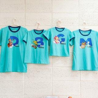 [Treasure hunt adventure (children)] parent-child / girls / short-sleeved T-shirt