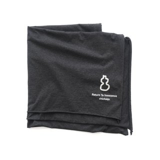 Explications original charcoal gray cotton scarves