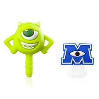 Beholder headphone plug & amp; Micro USB dust plug group [Monsters University]