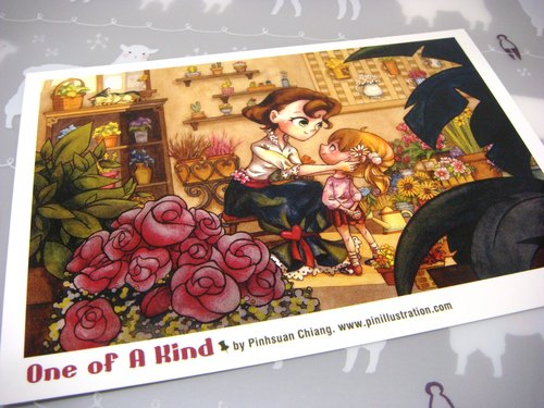 【Pin】One of A Kind│Print│Postcard