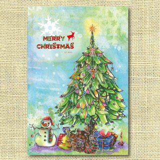 [Limited] beautiful Christmas tree Christmas Tree Merry Christmas! Christmas cards