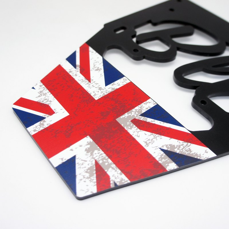 BLR License Plate Frame for Vespa [ United Kingdom ] AC02