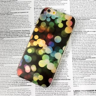 Colorful Spots Light Pattern Print Soft / Hard Case for iPhone X,  iPhone 8,  iPhone 8 Plus, iPhone 7 case, iPhone 7 Plus case, iPhone 6/6S, iPhone 6/6S Plus, Samsung Galaxy Note 7 case, Note 5 case, S7 Edge case, S7 case
