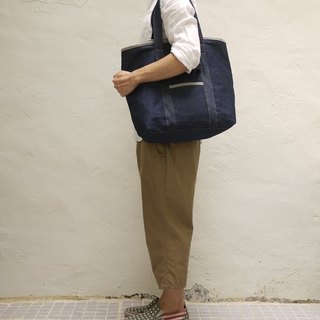 Orly 2 Ways Tote Bag M — Denim