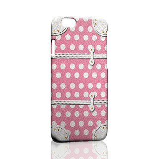 Pink Polka Dot phone trunk custom Samsung S5 S6 S7 note4 note5 iPhone 5 5s 6 6s 6 plus 7 7 plus ASUS HTC m9 Sony LG g4 g5 v10 phone shell mobile phone sets phone shell phonecase