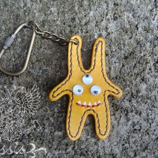 [ISSIS] by hand three little monster keychain