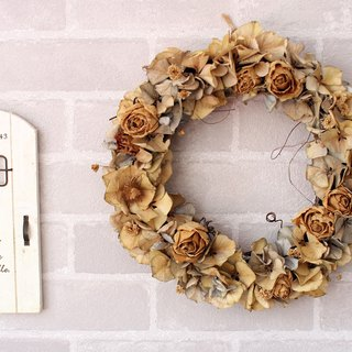 [Dried roses decorated wreaths] - immortalized flower / dried flowers / jewelry bouquet / wedding bouquet bouquet / flower ceremony