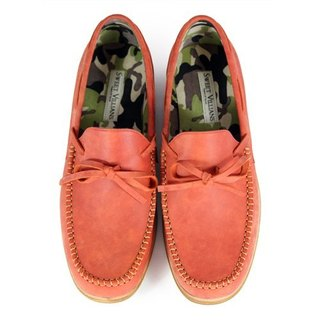 Wallflower M1122 Brick leather loafers