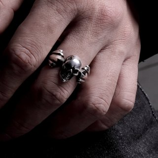 Skull ring M | Standard Collection | skull ring (M)