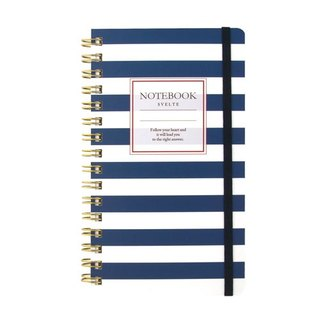 Japan [LABCLIP] Svelte Series Slim note Notebook / Blue
