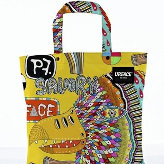 【URFACE】2nd Artist Series / P7 設計限量款Shopping Bag / 黃